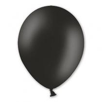 Латексные шары круглые без рисунка 1102-0022 в105/025 пастель черный