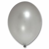 """Шары 12""""/30 см Металлик Серебро"""