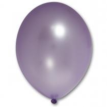 Латексные шары круглые без рисунка 1102-0047 в105/076 металлик лавандовый