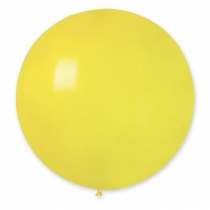"""Латексные шары 1102-0394 И 27""""/02 Пастель желтый"""