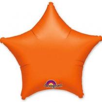 """Фольгированные шары 1204-0048 А Б/РИС ЗВЕЗДА 19"""" Металлик Orange S15"""