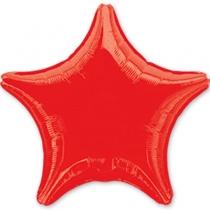 """Фольгированные шары 1204-0050 А Б/РИС ЗВЕЗДА 19"""" Металлик Red S15"""