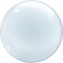 """Фольгированные шары без рисунка 1204-0625 к bubble сфера 18"""" б/рис"""