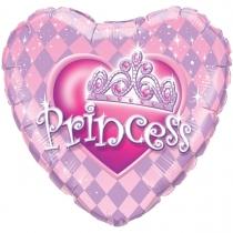"""Фольгированные шары 3202-0156 п 18"""" тиара принцессы"""
