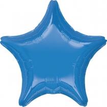"""Фольгированные шары без рисунка 3204-0142 а б/рис звезда 19"""" пастель барвинок periwinkle s15"""