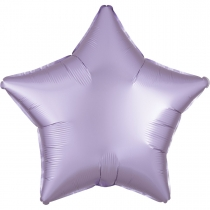 """Фольгированные шары без рисунка 3204-0567 а б/рис 18"""" звезда сатин сиреневая s15"""