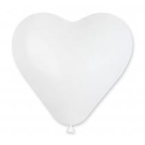 1111-0044 Шар сердце на выбор (красный, белый)