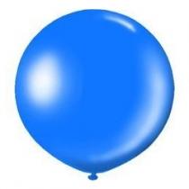 """Латексные шары круглые 1102-0585 И 27""""/36 Металлик синий"""