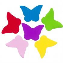 3501-0056 Конфетти бабочки микс 100гр/У