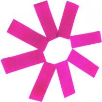 3501-0129 Конфетти прямоугольные розовое 100гр/У