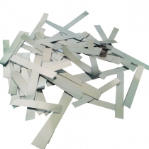 3501-0161 Конфетти полоски серебро 100гр/У