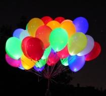 Светящийся шарик 1302-3077 Светодиод для шариков белый/У