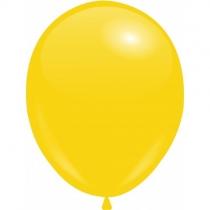 "Шары 10""/25 см Пастель Желтый темный (Lemon)"