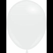"""Шары 10""""/25 см Пастель Белый"""